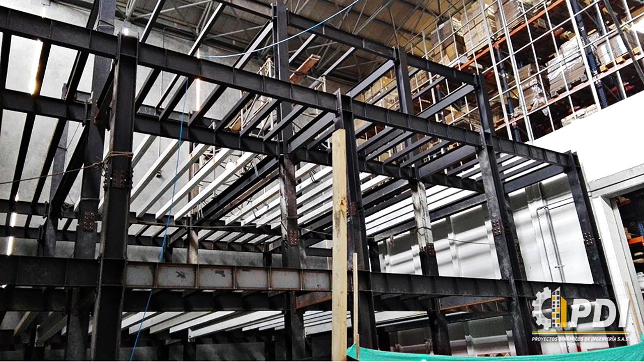 Edificio Estructura Metálica
